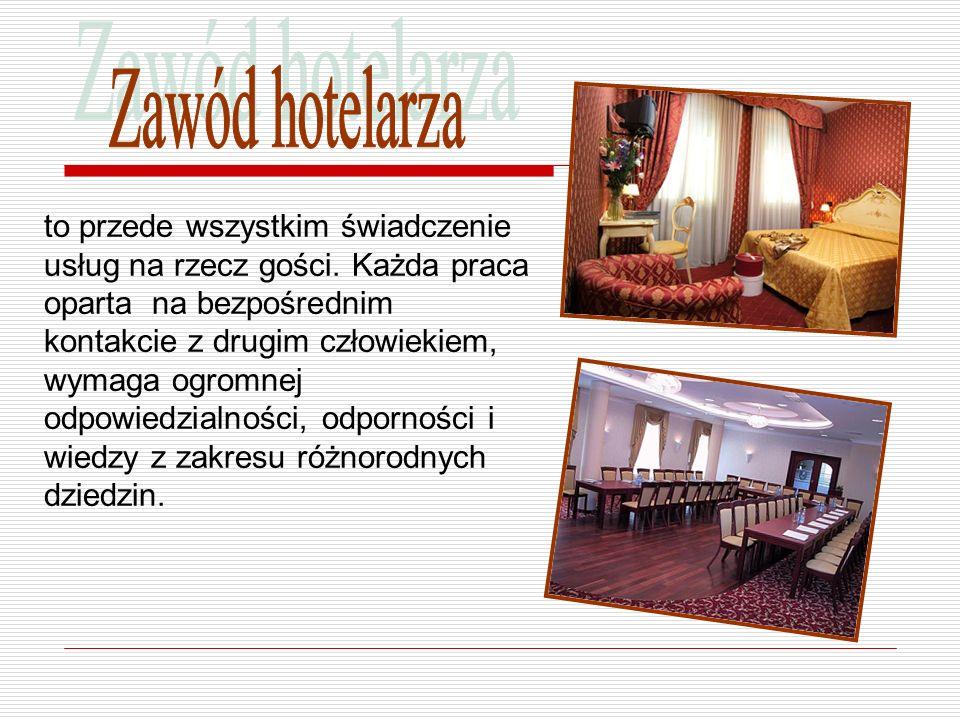Zawód hotelarza