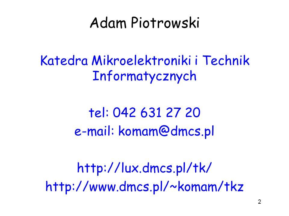 Katedra Mikroelektroniki i Technik Informatycznych