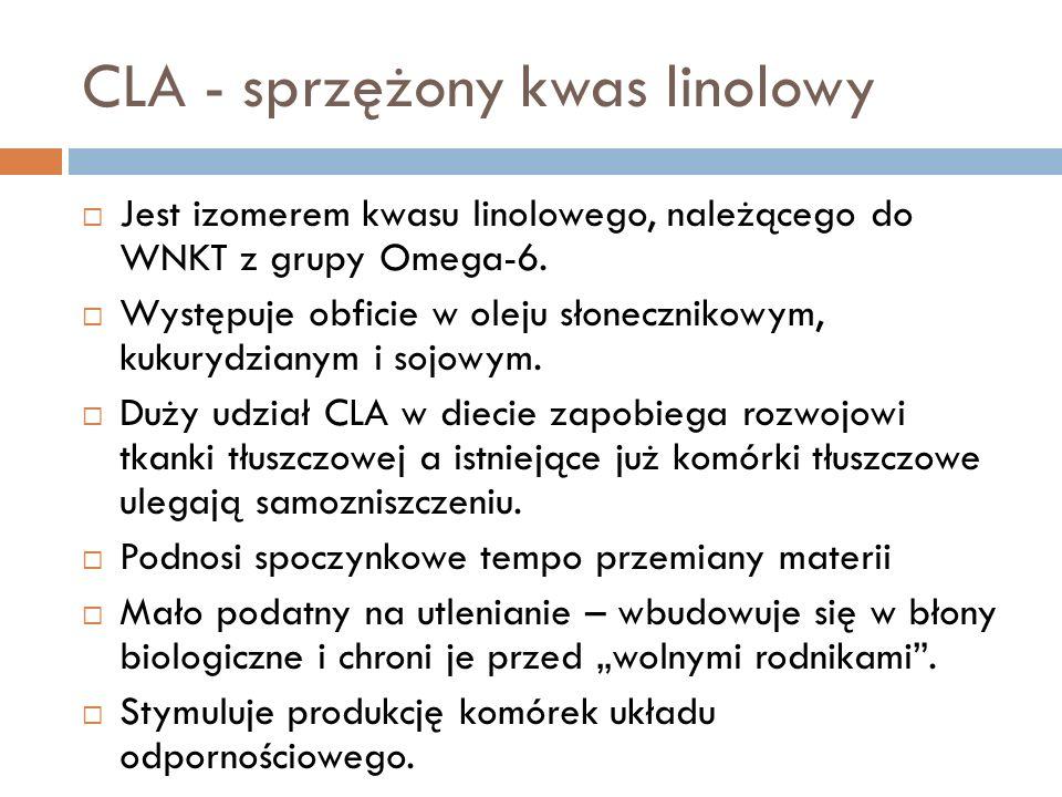 CLA - sprzężony kwas linolowy