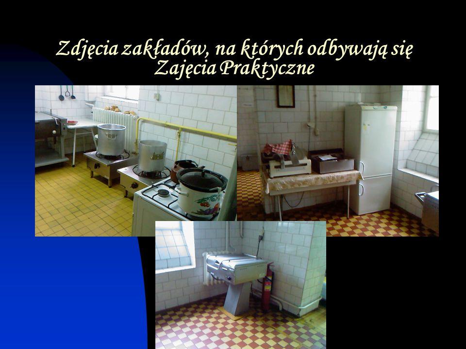 Zdjęcia zakładów, na których odbywają się Zajęcia Praktyczne