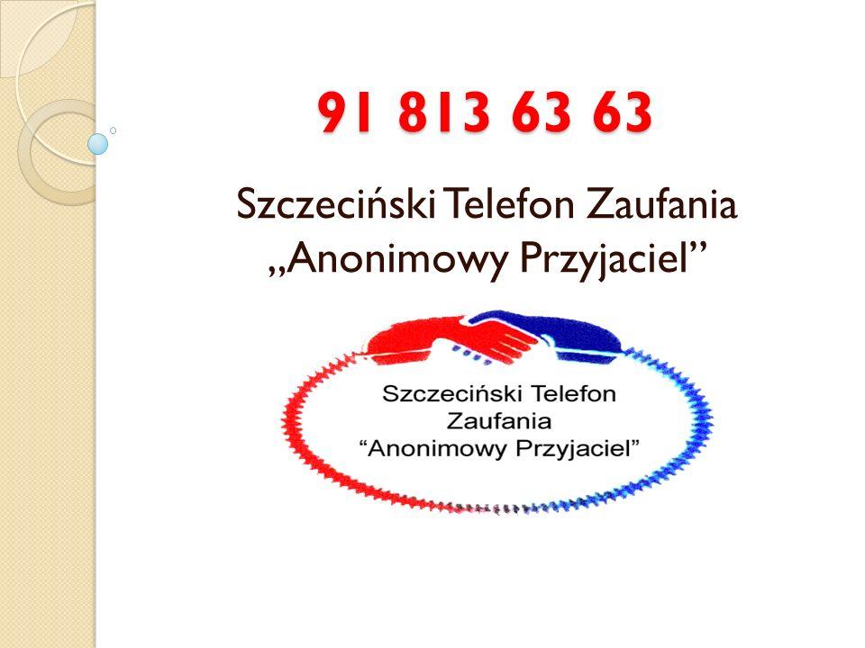 """Szczeciński Telefon Zaufania """"Anonimowy Przyjaciel"""