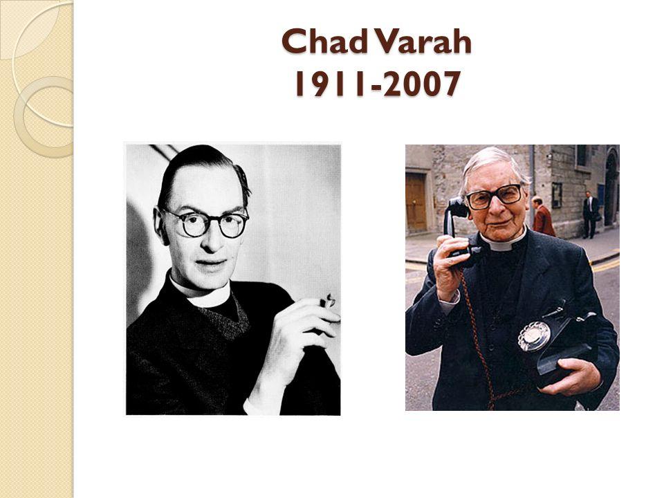 Chad Varah 1911-2007