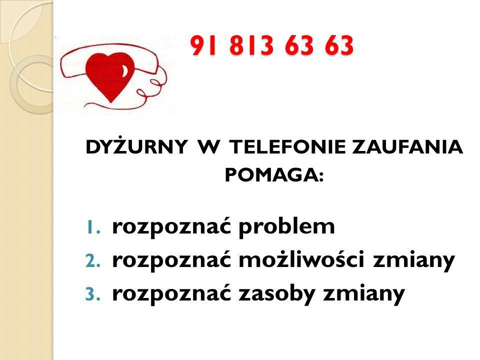 DYŻURNY W TELEFONIE ZAUFANIA