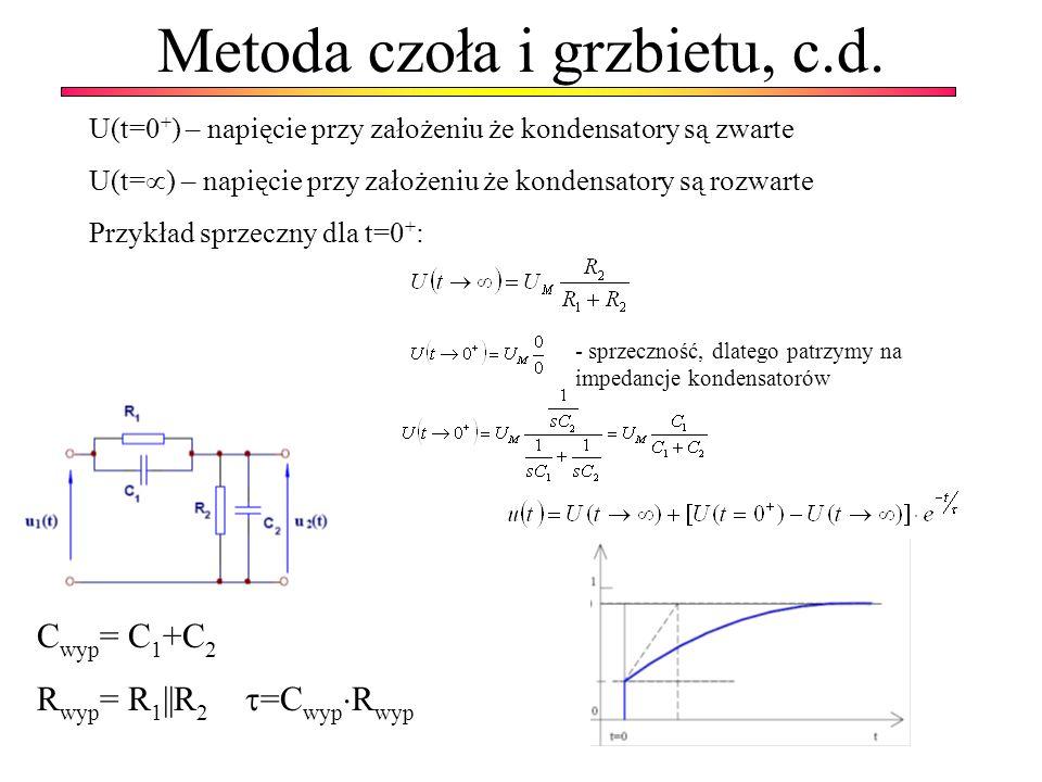 Metoda czoła i grzbietu, c.d.
