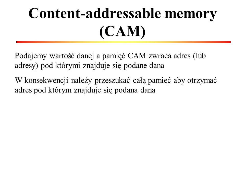 Content-addressable memory (CAM)