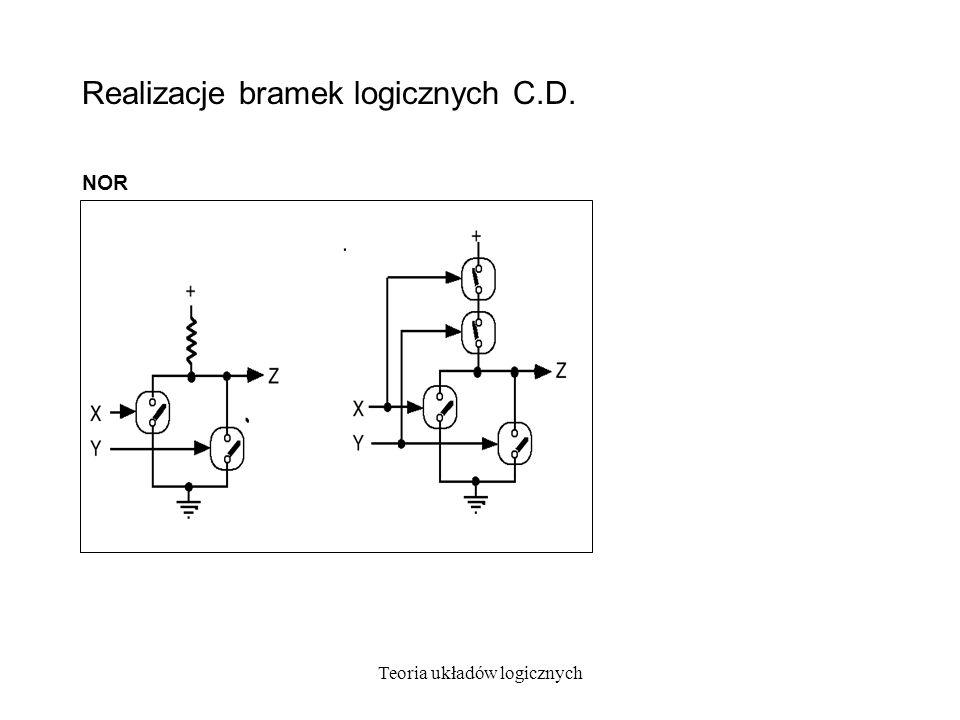 Realizacje bramek logicznych C.D.