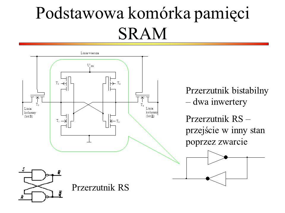 Podstawowa komórka pamięci SRAM