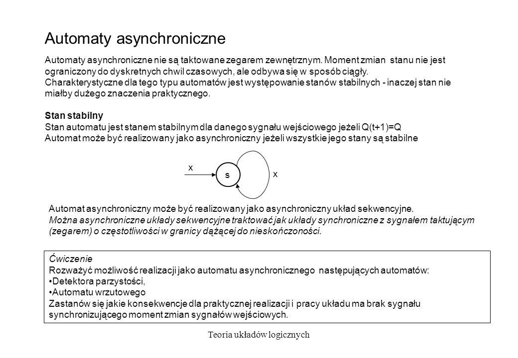 Automaty asynchroniczne