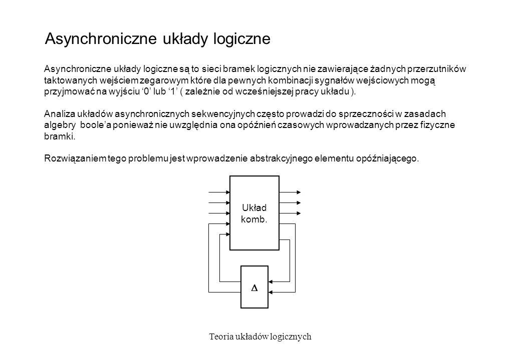 Asynchroniczne układy logiczne