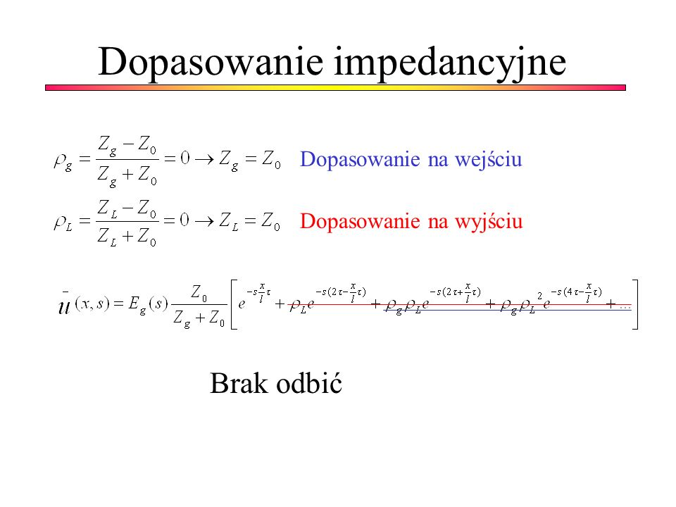 Dopasowanie impedancyjne