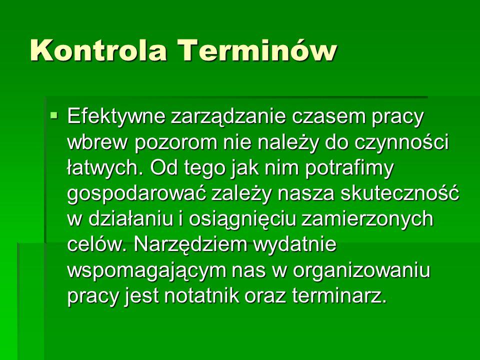 Kontrola Terminów