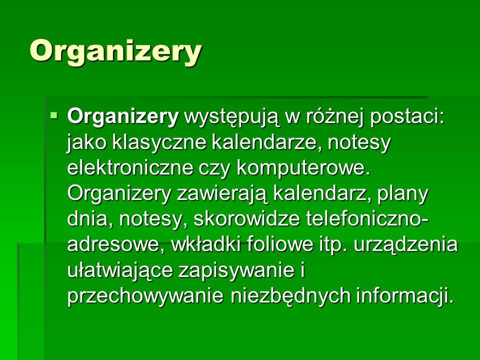 Organizery