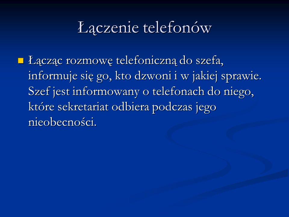 Łączenie telefonów