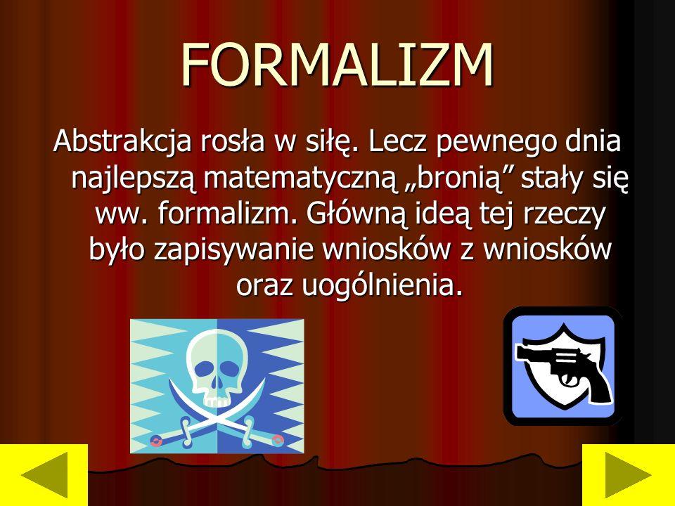 FORMALIZM