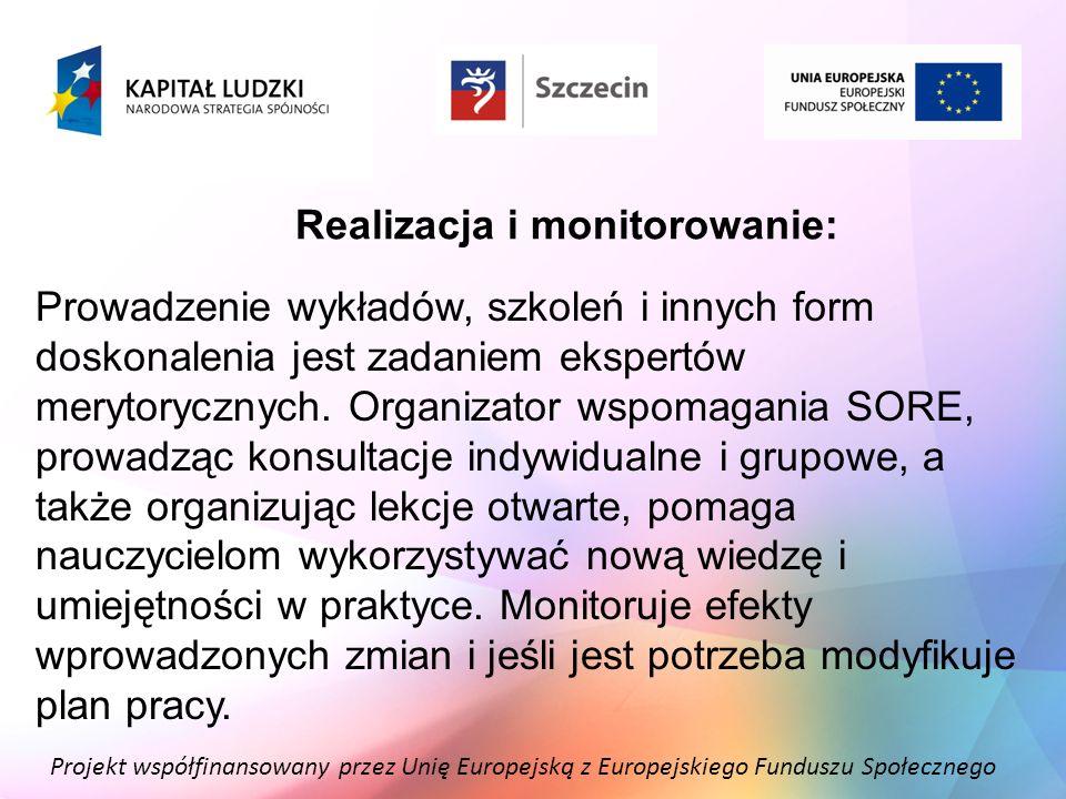 Realizacja i monitorowanie:
