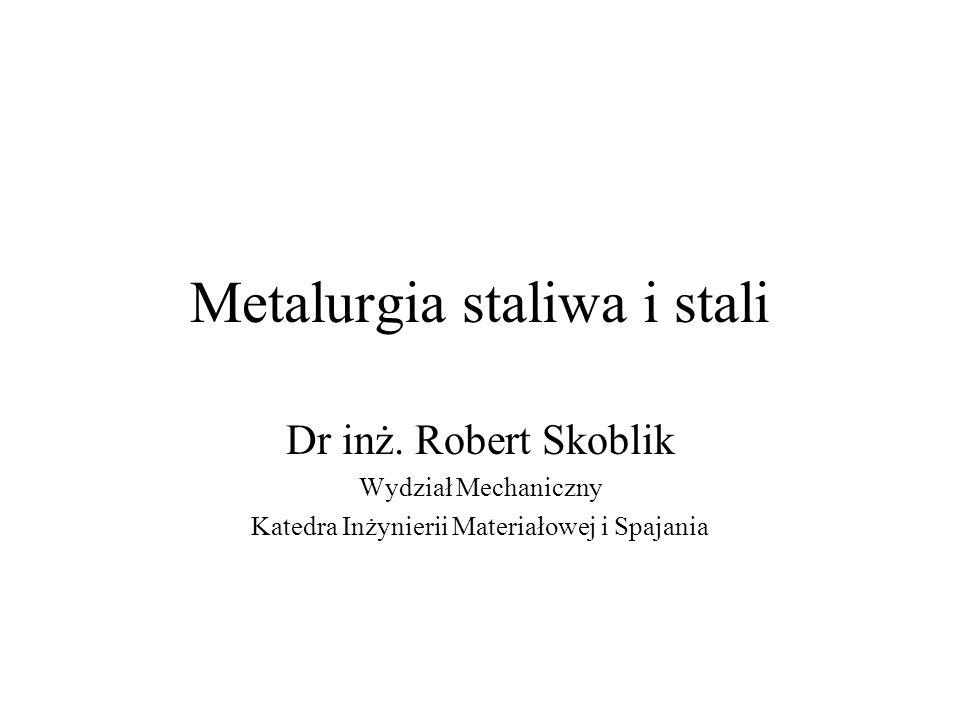 Metalurgia staliwa i stali