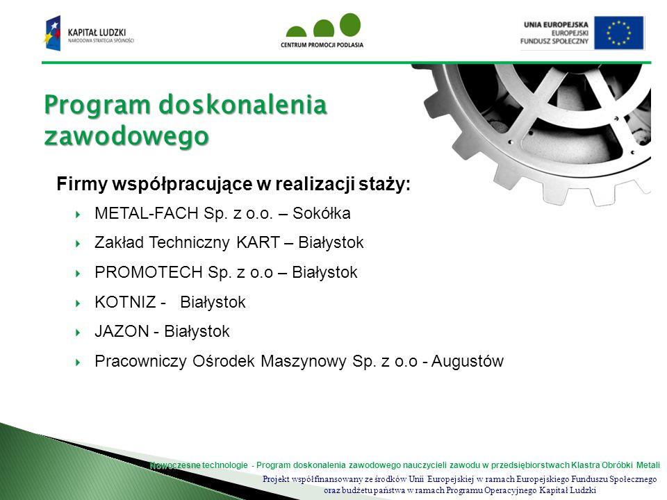Program doskonalenia zawodowego