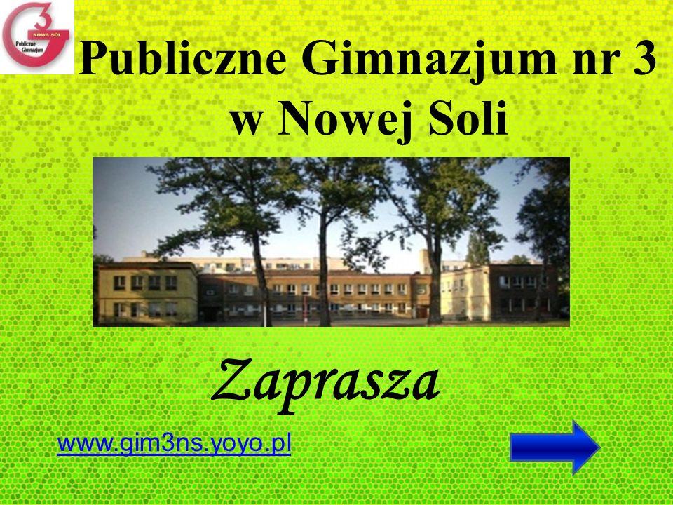 Publiczne Gimnazjum nr 3 w Nowej Soli