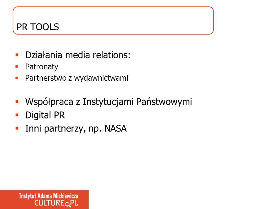 Działania media relations: