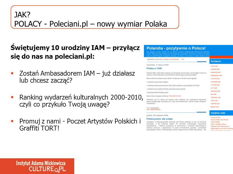 JAK POLACY - Poleciani.pl – nowy wymiar Polaka