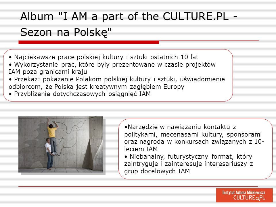Album I AM a part of the CULTURE.PL - Sezon na Polskę