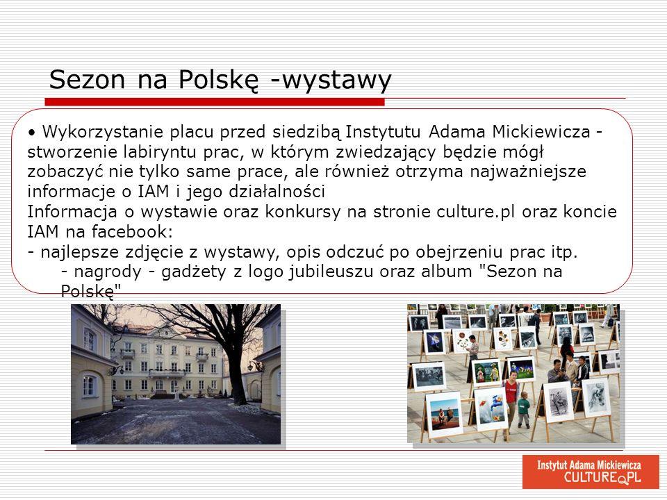 Sezon na Polskę -wystawy