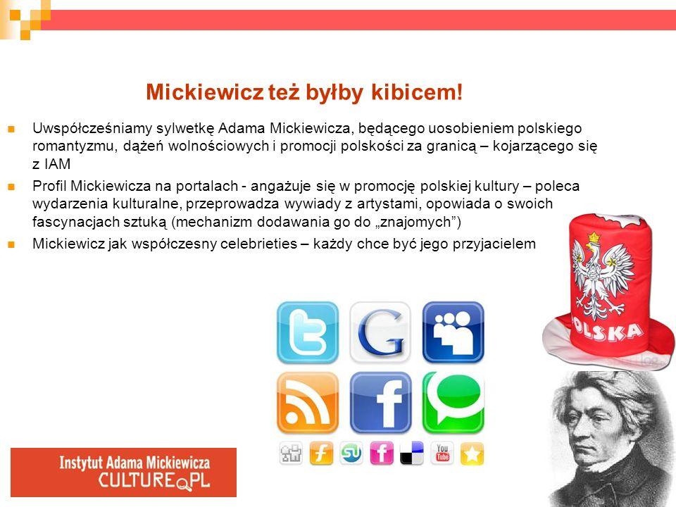 Mickiewicz też byłby kibicem!