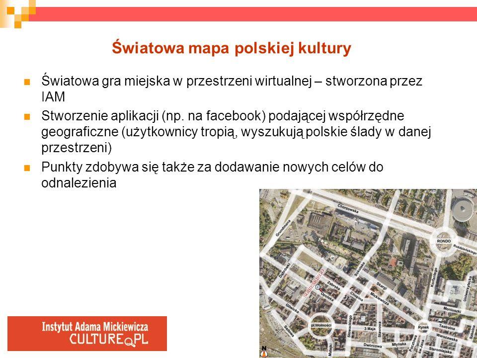 Światowa mapa polskiej kultury