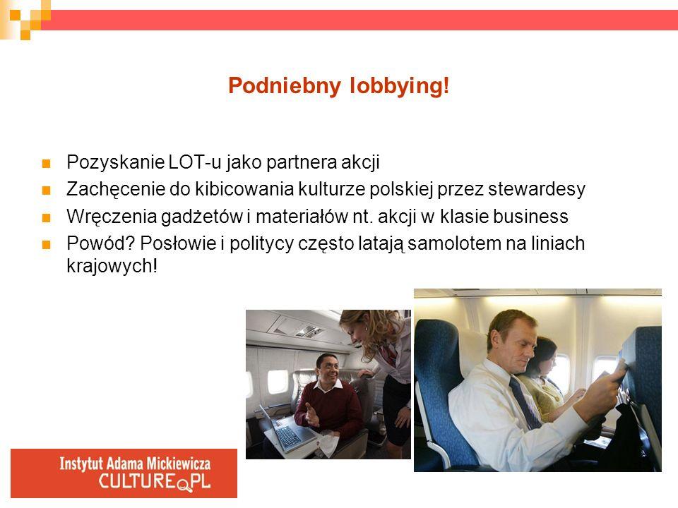 Podniebny lobbying! Pozyskanie LOT-u jako partnera akcji