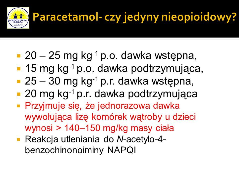 Paracetamol- czy jedyny nieopioidowy
