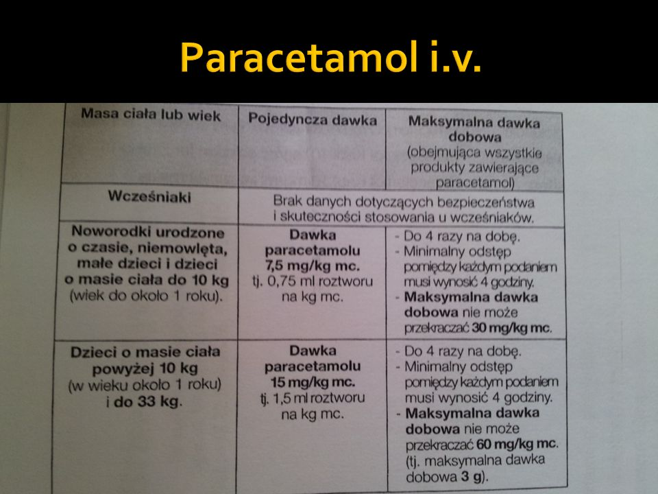 Paracetamol i.v.