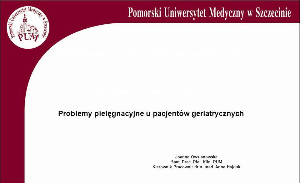 Kierownik Pracowni: dr n. med. Anna Hajduk