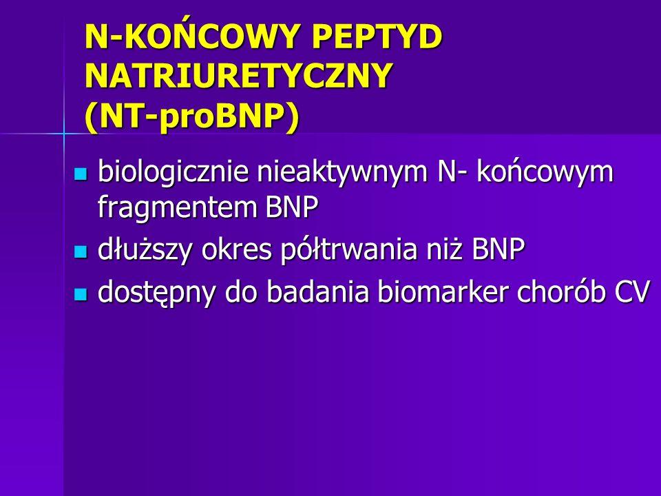 N-KOŃCOWY PEPTYD NATRIURETYCZNY (NT-proBNP)