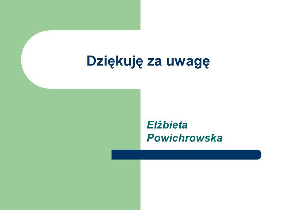 Elżbieta Powichrowska