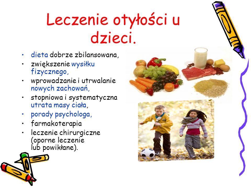 Leczenie otyłości u dzieci.