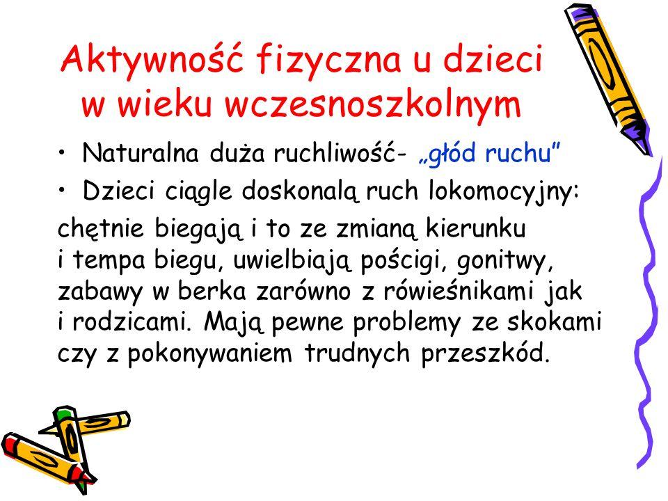 Aktywność fizyczna u dzieci w wieku wczesnoszkolnym