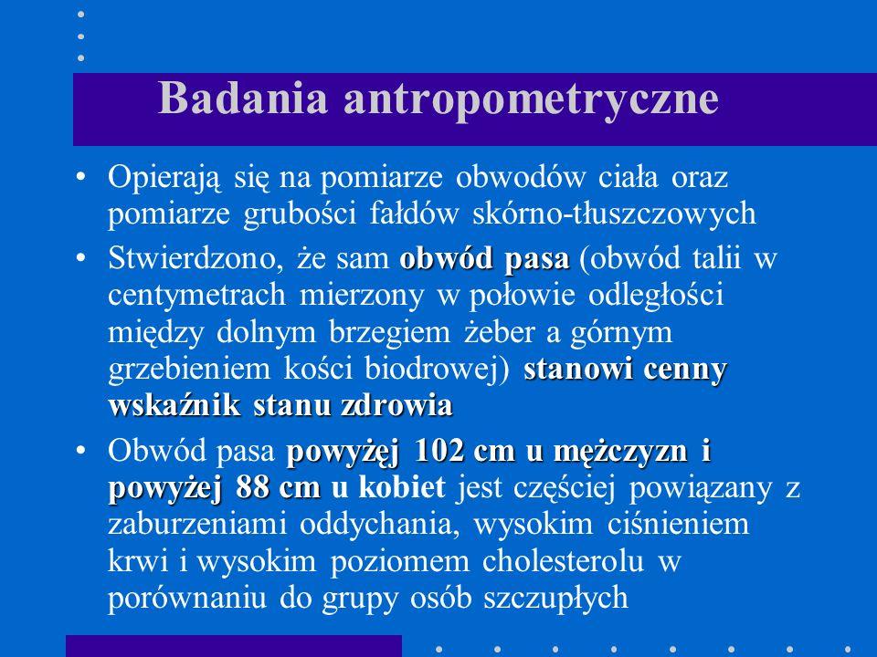 Badania antropometryczne