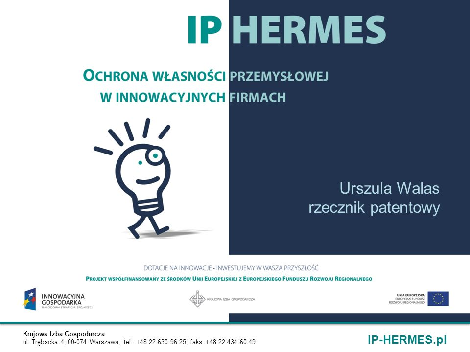 Urszula Walas rzecznik patentowy