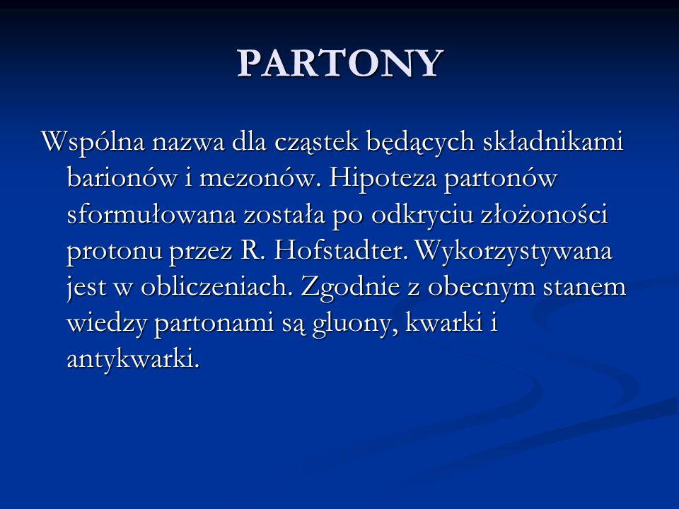 PARTONY
