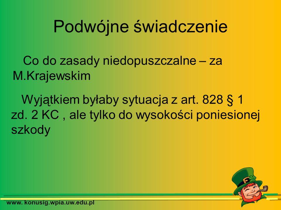 Co do zasady niedopuszczalne – za M.Krajewskim