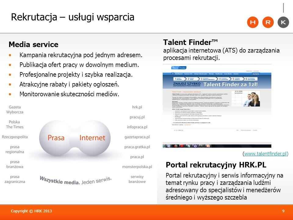 Rekrutacja – usługi wsparcia