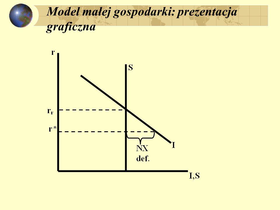 Model małej gospodarki: prezentacja graficzna