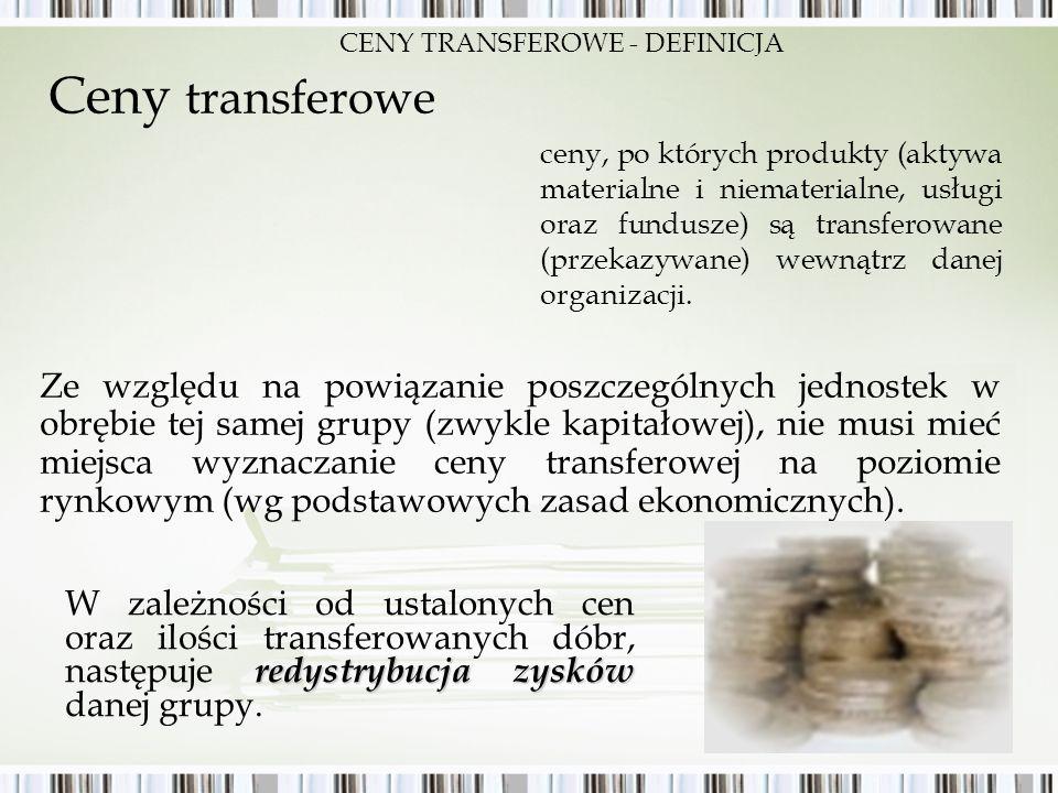 CENY TRANSFEROWE - DEFINICJA