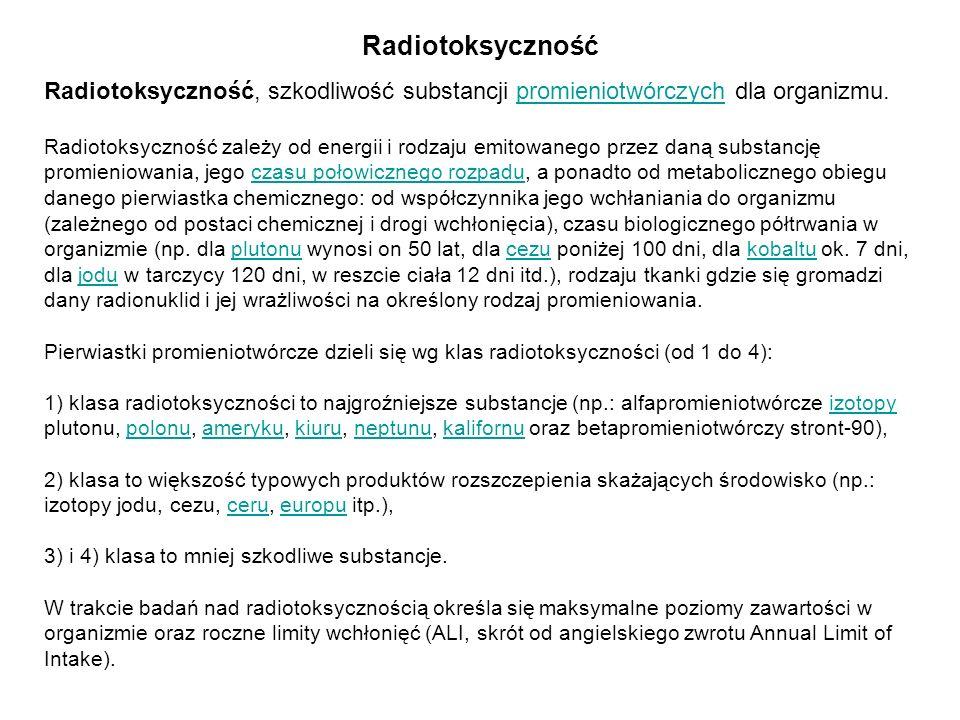 Radiotoksyczność
