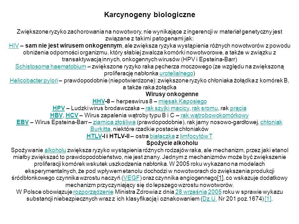 Karcynogeny biologiczne