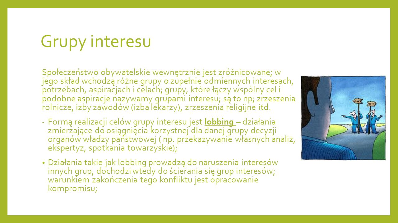 Grupy interesu