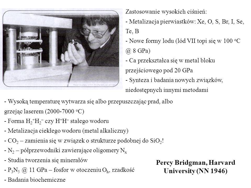Percy Bridgman, Harvard