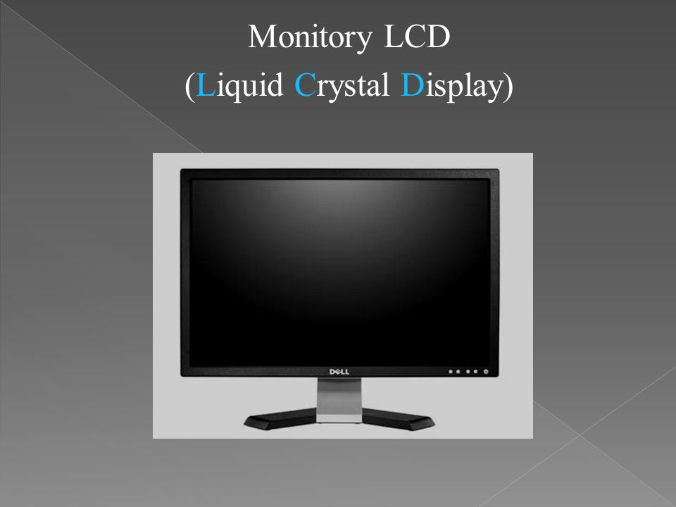 (Liquid Crystal Display)