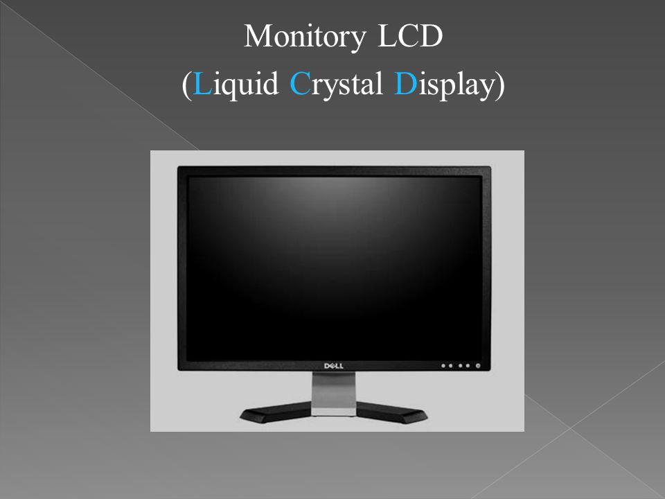 (Liquid Crystal Display)
