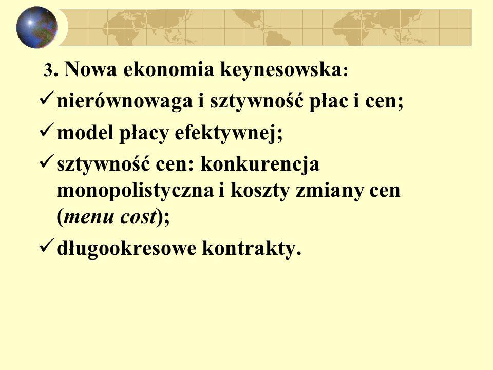 3. Nowa ekonomia keynesowska: